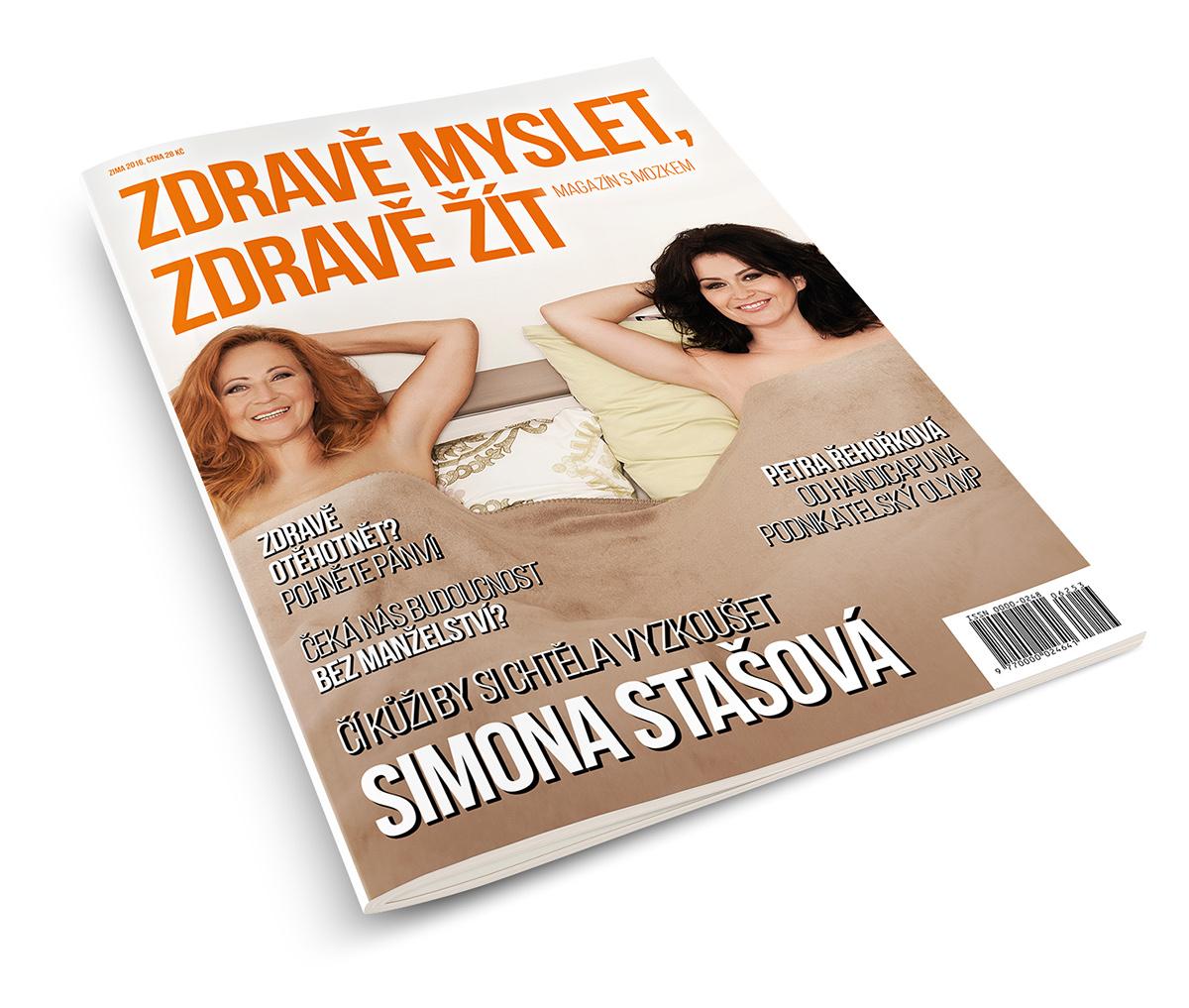 Grafický návrh časopisu