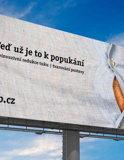 Grafický návrh billboardu pro LLB