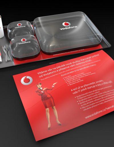 3D grafický návrh direct mailu pro Vodafone