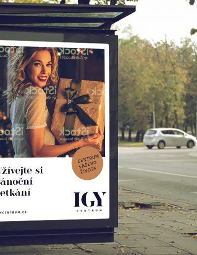 Grafický návrh vizuálního stylu pro IGY